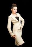 Femme d'affaires kazakh images libres de droits