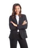 Femme d'affaires noire photos stock