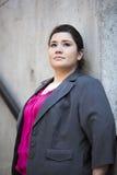 Femme d'affaires - portrait Photographie stock libre de droits