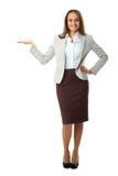 Femme d'affaires réussie Photographie stock