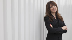 Femme d'affaires réussie Images stock