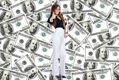 Femme d'affaires réussie Photos stock