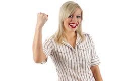 Femme d'affaires - réussite Images stock
