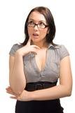 Femme d'affaires recherchant Images libres de droits