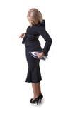 Femme d'affaires repassante Photographie stock libre de droits
