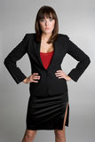 Femme d'affaires sérieuse Image stock