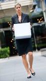 Femme d'affaires sans emploi images stock