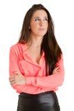 Femme d'affaires Smiling Image libre de droits