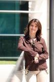 Femme d'affaires smilling Photographie stock libre de droits