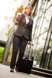Femme d'affaires Traveling Photos stock