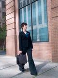 Femme d'affaires urbaine 9 image libre de droits