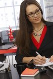 Femme d'affaires Working Photo stock
