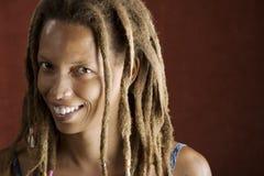 Femme d'Afro-américain image libre de droits