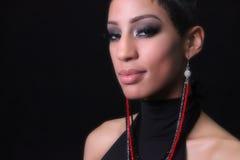 Femme d'Américain d'Afircan Photos stock