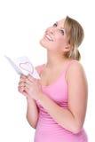 femme d'amour de lettre Image libre de droits