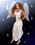 Femme d'ange Photos libres de droits