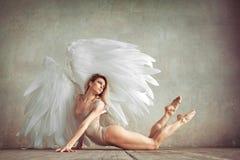 Femme d'ange photographie stock libre de droits