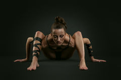 Femme d'araignée Photographie stock