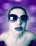 Femme d'art de mode photographie stock