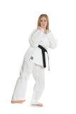 Femme d'arts martiaux Photos stock