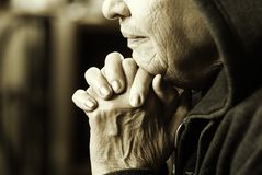 Femme d'Eldery Photos libres de droits