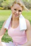 Femme d'exercice Image libre de droits