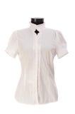 femme d'isolement de chemise Photos libres de droits