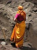 Femme d'ouvrier images libres de droits