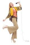 Femme dans l'habillement espagnol Images stock