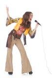 Femme dans l'habillement espagnol Photo libre de droits