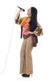 Femme dans l'habillement espagnol Image stock