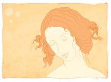 Femme dans la méditation Photo libre de droits
