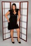 Femme dans la robe images libres de droits