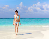 Femme dans le bikini Photo libre de droits
