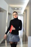 Femme dans le bureau Photographie stock