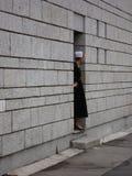 Femme dans le costume breton au festival de Lorient Images stock