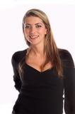 Femme dans le dessus noir Photographie stock libre de droits