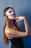 Femme dans le masque 3 Photo stock