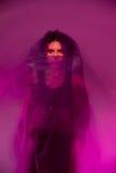 Femme dans le yashmak Image libre de droits