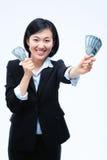 Femme dans les affaires IV Image stock