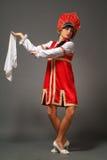 Femme dans un kokoshnik Photo stock