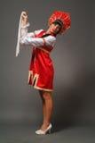 Femme dans un kokoshnik photos stock