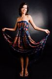 Femme dans une robe Photo libre de droits