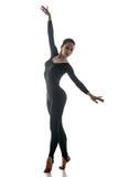 Femme dansant la danse acrobatique Image stock