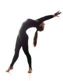 Femme dansant la danse acrobatique Photos libres de droits