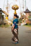 Femme de Balinese Photos stock