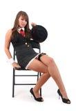 Femme de bandit Images stock