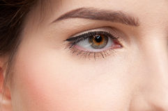 Femme de beauté avec la peau parfaite ! Photo stock