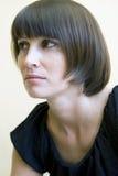 Femme de brune Photographie stock libre de droits