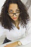Femme de bureau Photographie stock libre de droits